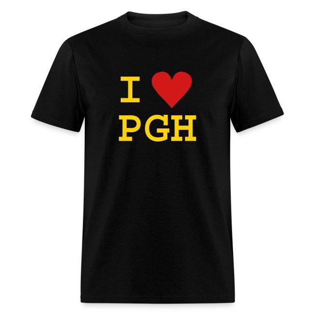 62b6258c Burgh Topia | I Love PGH Tee - Mens T-Shirt