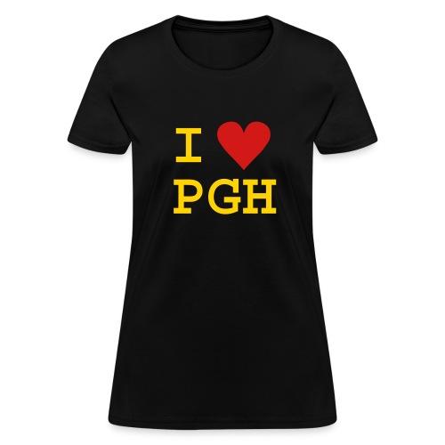 I Love PGH Tee - Women's T-Shirt
