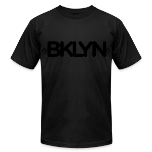BKLYN Blackout Edition - Men's T-Shirt by American Apparel