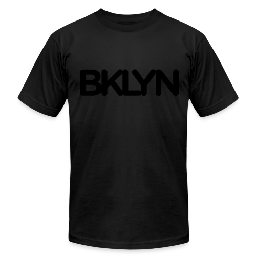 BKLYN Blackout Edition - Men's Fine Jersey T-Shirt