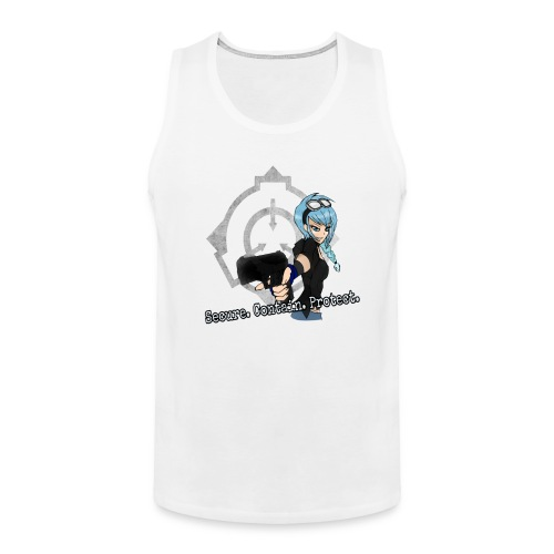SCP - Angel Tank Top (Men) - Men's Premium Tank