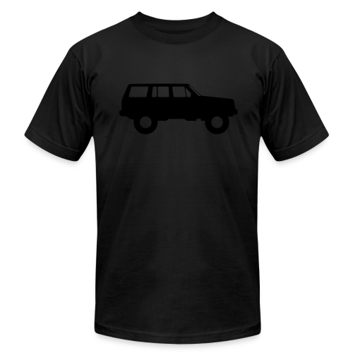Jeep Cherokee Blackout Edition - Men's T-Shirt by American Apparel