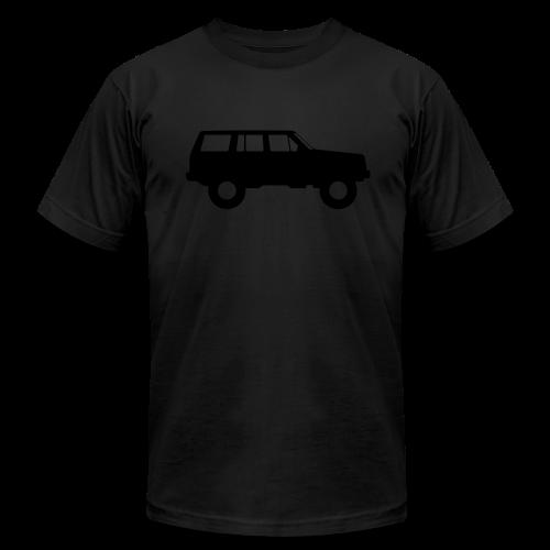 Jeep Cherokee Blackout Edition - Men's Fine Jersey T-Shirt