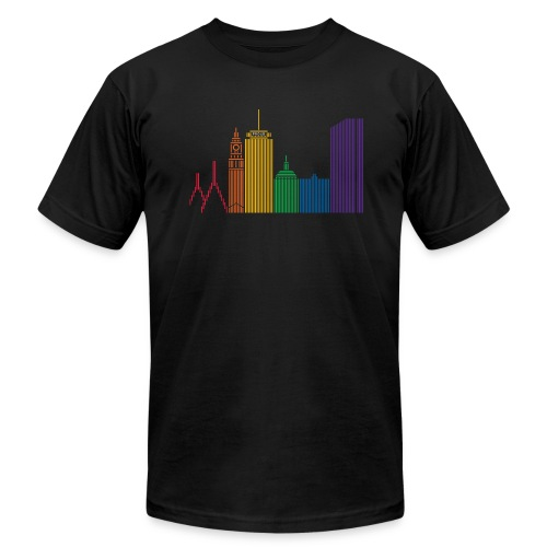 Boston Pride T - Men's  Jersey T-Shirt
