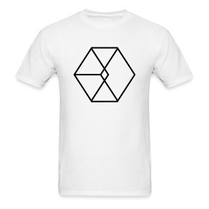 EXO Cube Logo - Men's T-Shirt