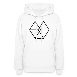 EXO Cube Logo - Women's Hoodie