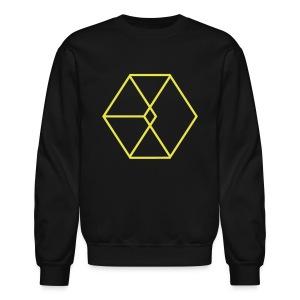EXO Cube Logo - Crewneck Sweatshirt