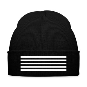 Big Bang MADE 5 Stripes - Knit Cap with Cuff Print