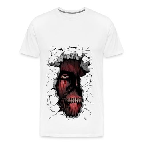 Attack on Titan Men's Tee - Men's Premium T-Shirt