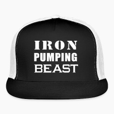 Iron Pumping Beast Hat
