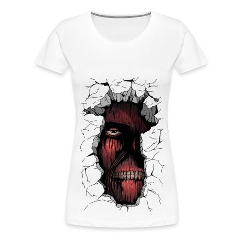 Attack on Titan Women's Tee - Women's Premium T-Shirt