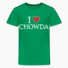 I Heart Chowder Chowda Kids' Shirts