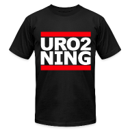 T-Shirts ~ Men's T-Shirt by American Apparel ~ URO2 NING