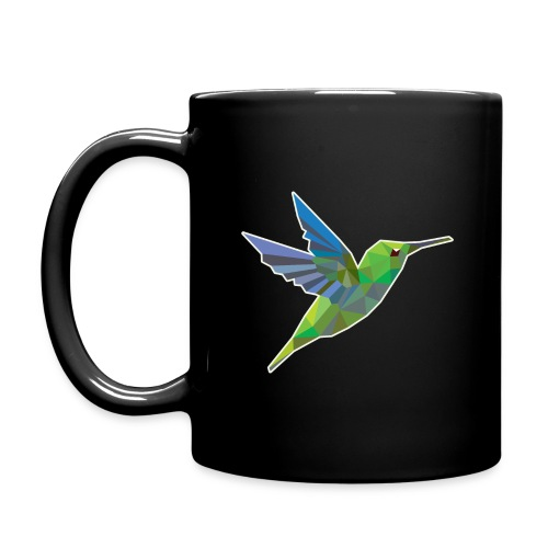 Humming bird low polygon - Full Color Mug