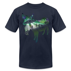 Scent of a Mule - Men's T-Shirt by American Apparel