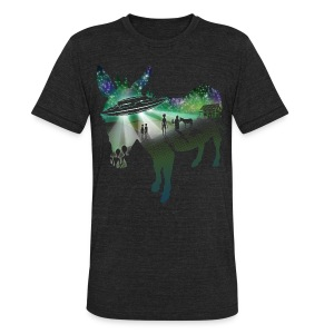 Scent of a Mule - Unisex Tri-Blend T-Shirt by American Apparel