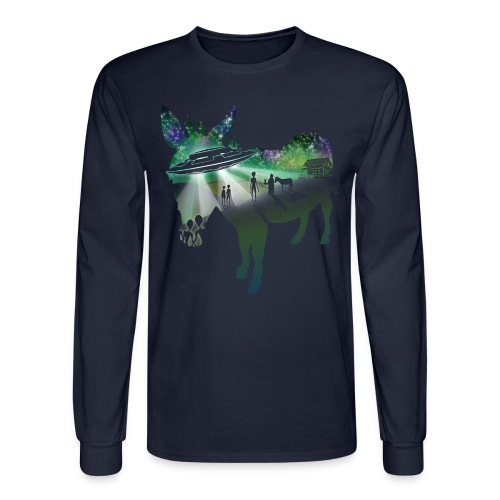 Scent of a Mule - Men's Long Sleeve T-Shirt