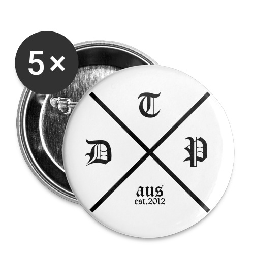 dtp aus badge - Buttons small 1'' (5-pack)