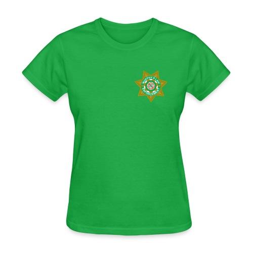 Murphy's Law Enforcement f St. Paddy's - Women's T-Shirt