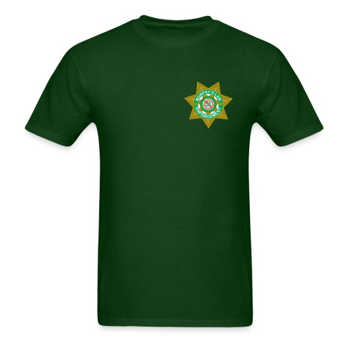 Murphy's Law Enforcement St. Paddy's - Men's T-Shirt