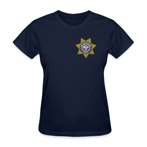 Secret Police Shhh! Badge f - Women's T-Shirt
