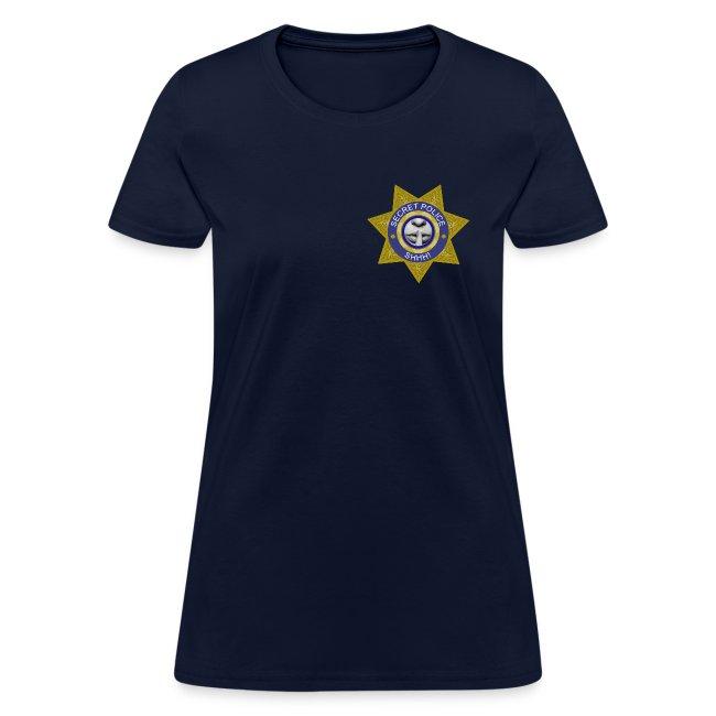 Secret Police Shhh! Badge f
