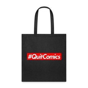 #QuitComics (for items) - Tote Bag