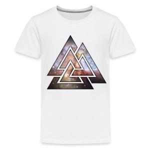 Kids TriLock White Tee - Kids' Premium T-Shirt