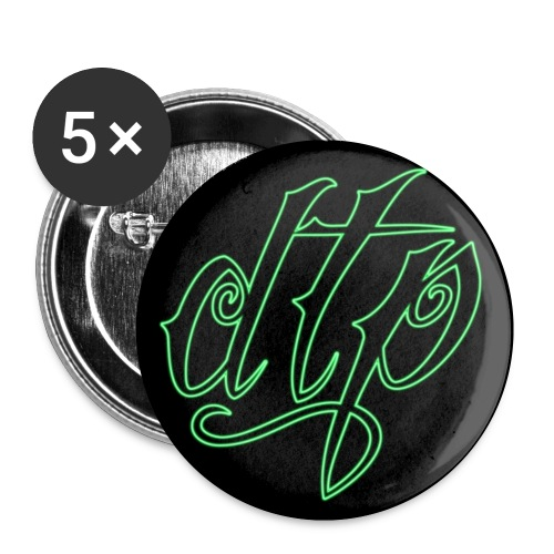 dtp badge - Buttons small 1'' (5-pack)