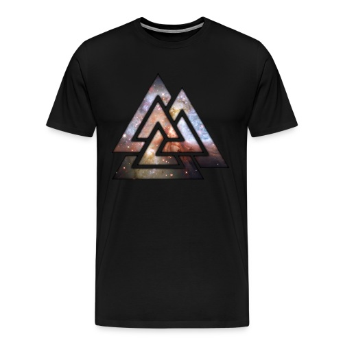 Men's Black Tee TriLock - Men's Premium T-Shirt