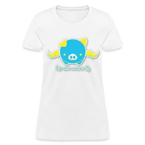 Flying Pig T-Shirt - Women's T-Shirt