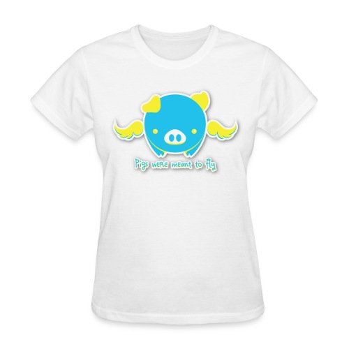 Flying Pig T-Shirt - Women's T-Shirt