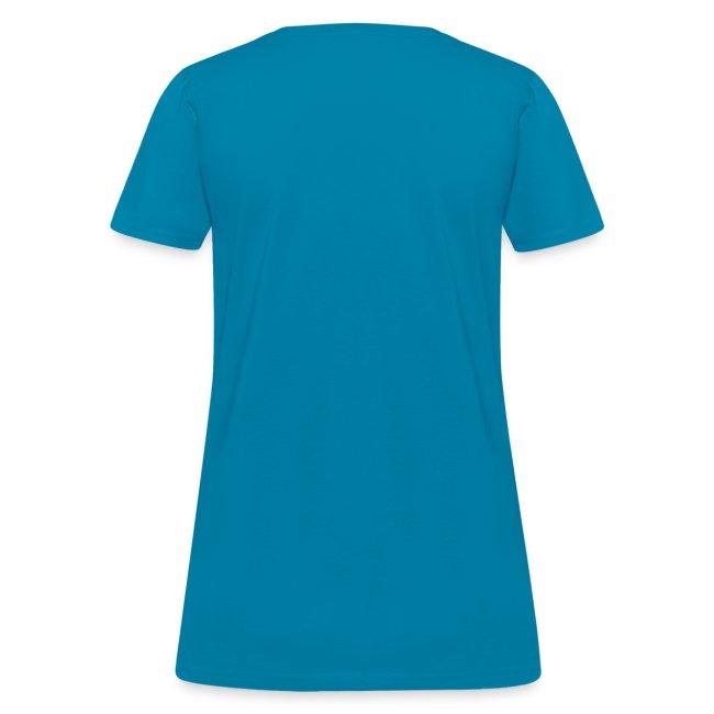 Cultivate Kindness White Logo Women's Shirt