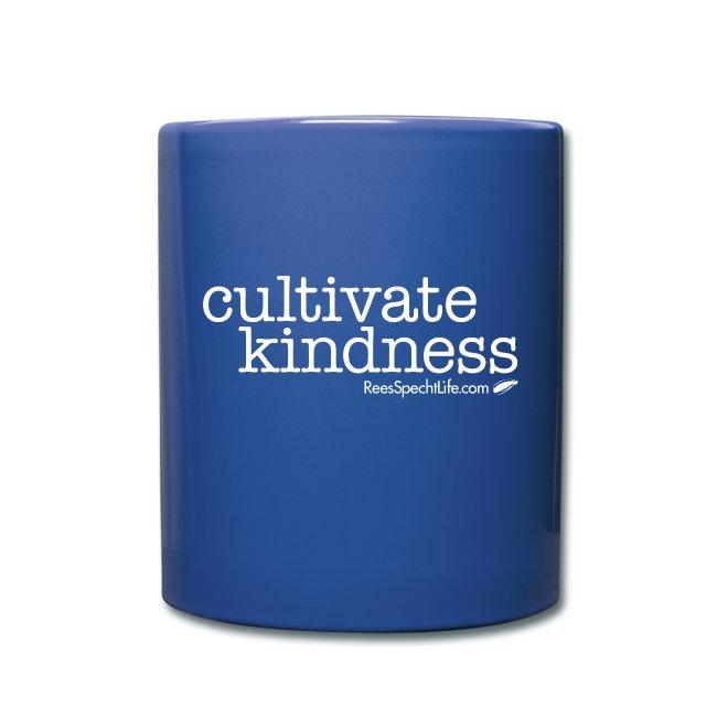 Cultivate Kindness White Logo Color Mug