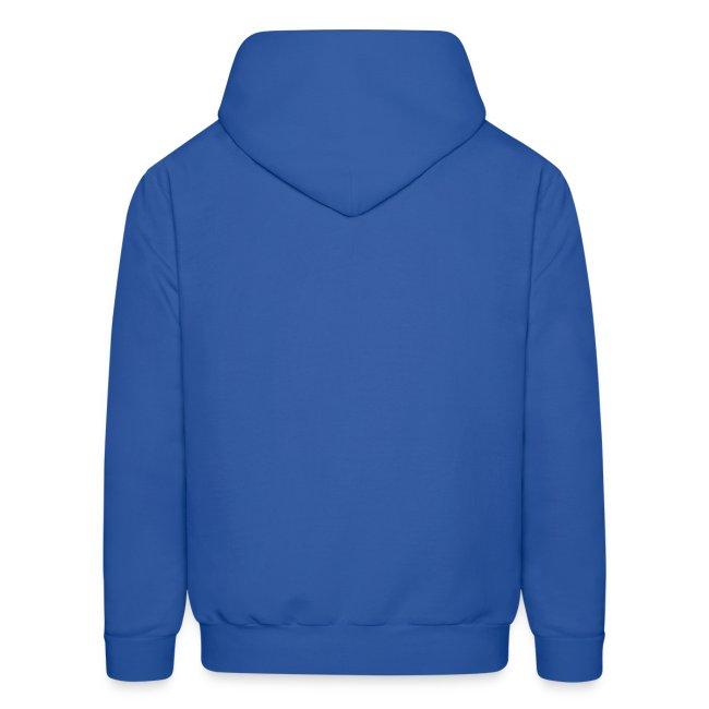 Cultivate Kindness White Logo Men's Hodded Sweatshirt