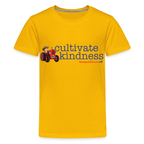 Cultivate Kindness Kid's shirt - Kids' Premium T-Shirt