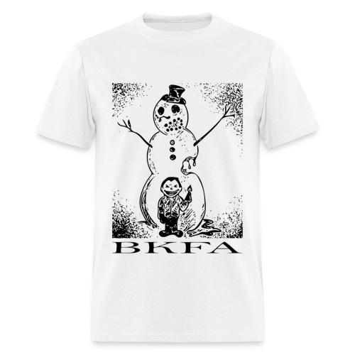Wanna Burn a Snowman Men's Tee - Men's T-Shirt