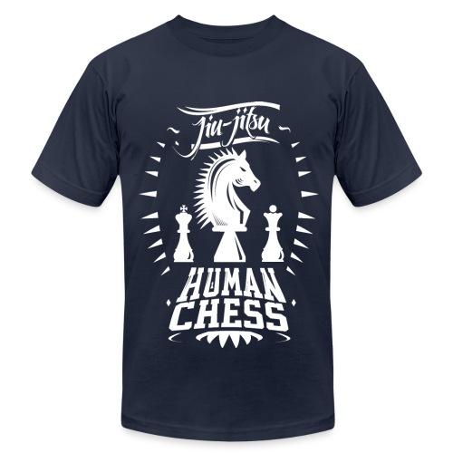 Human Chess Jiu Jitsu Shirt (W) - Men's Fine Jersey T-Shirt
