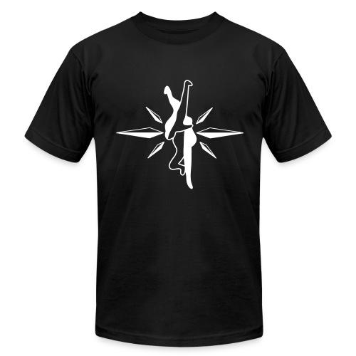 North-South Choke Jiu Jitsu Shirt (W) - Men's Fine Jersey T-Shirt