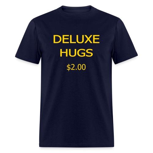 Deluxe Hugs - 2 dollars - Men's T-Shirt