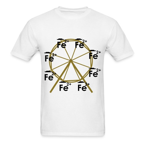 Ferrous Wheel No Text - Men's T-Shirt