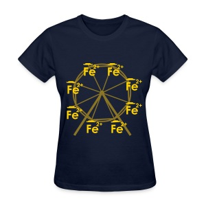 Ferrous Wheel No Text - Women's T-Shirt