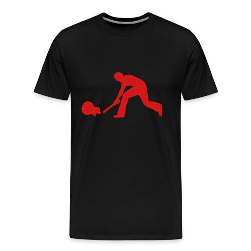 Rock Guitar Smash - Men's Premium T-Shirt