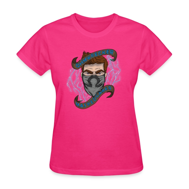 Official Masked Gamer Women's Tee