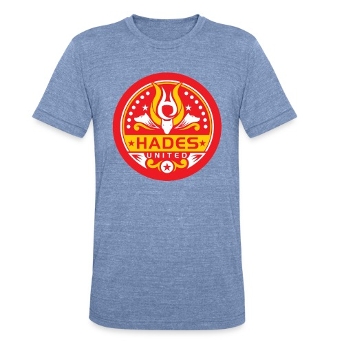 Once on, it'll stay on until you take it off! - Unisex Tri-Blend T-Shirt
