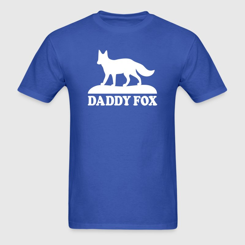 daddy fox family fun T-Shirts - Men's T-Shirt