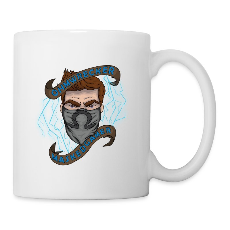 Official Masked Gamer Mug - Coffee/Tea Mug