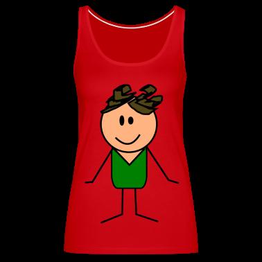 Cartoon Tank Top | Spreadshirt