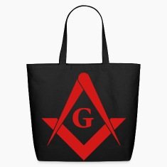 masonic symbol Bags & backpacks