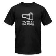 T-Shirts ~ Men's T-Shirt by American Apparel ~ yes, this is Film Camera Premium 100% cotton